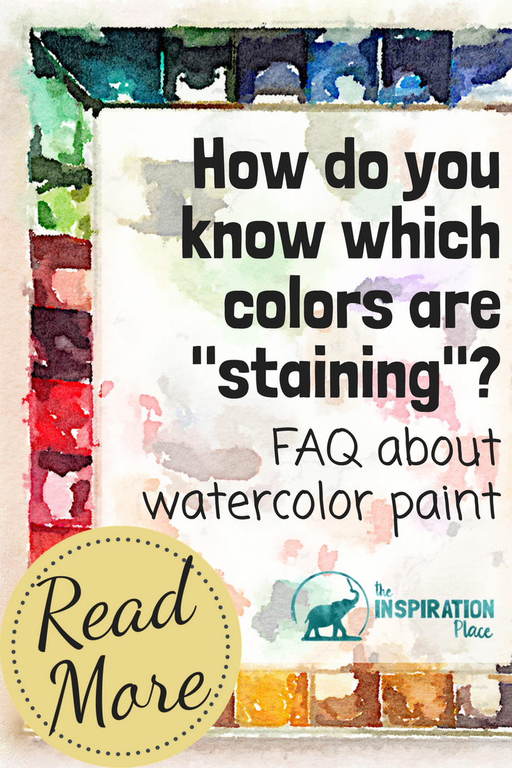 Knowing about different properties of watercolor paint will help you master watercolor painting. Use this guide to understand the differences between transparent, opaque, permanent, and non-staining watercolor paints → https://schulmanart.com/2017/03/guide-to-understanding-watercolor-paint-properties/